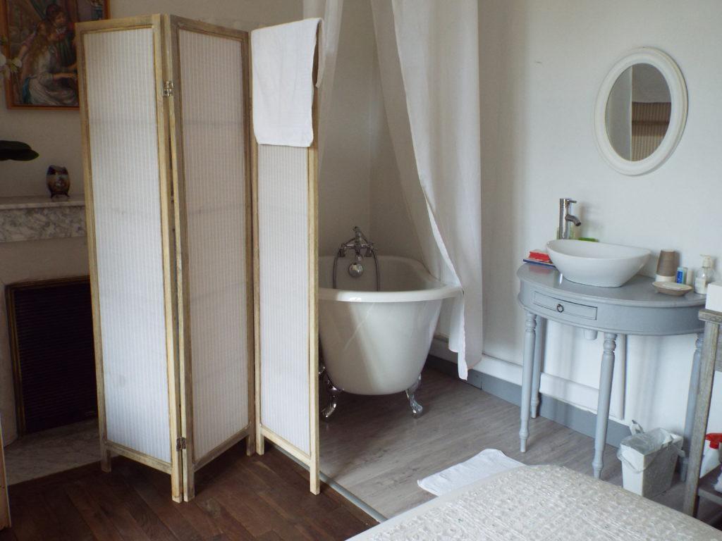 Belle Epoque, salle de bain ouverte