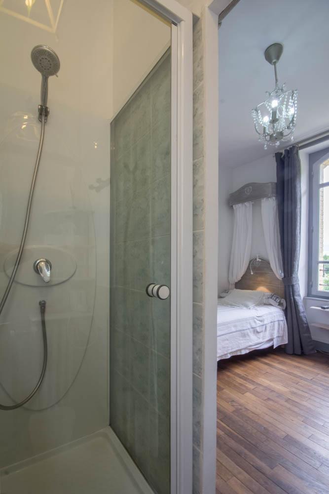 Chambre d'hôte Les Randonneurs, douche
