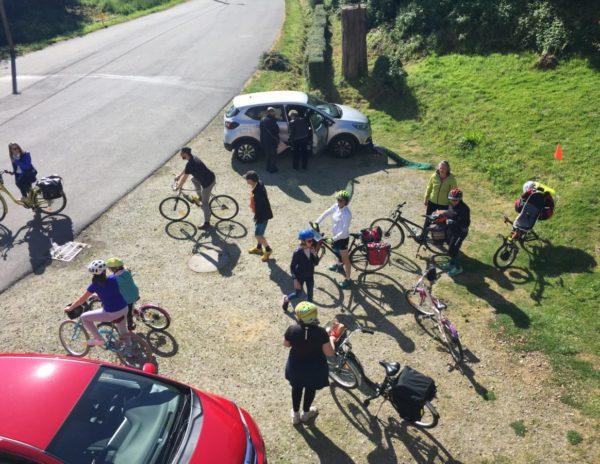 groupe à vélo