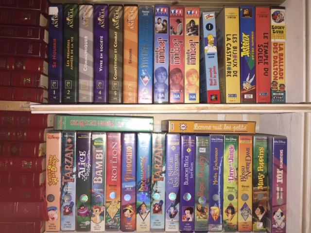 Vidéo VHS pour enfants