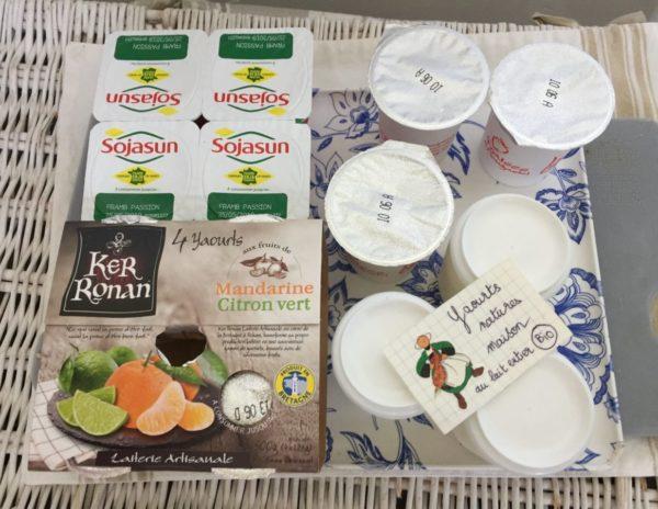 Yaourt maison et yaourt Ker Ronan