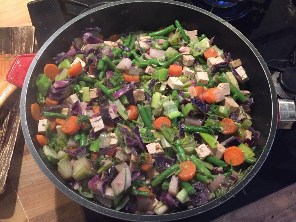 Poêlée de legumes