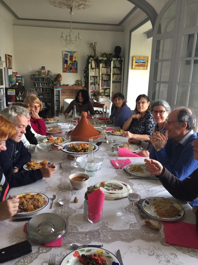 week-end à thème: dîner ensemble