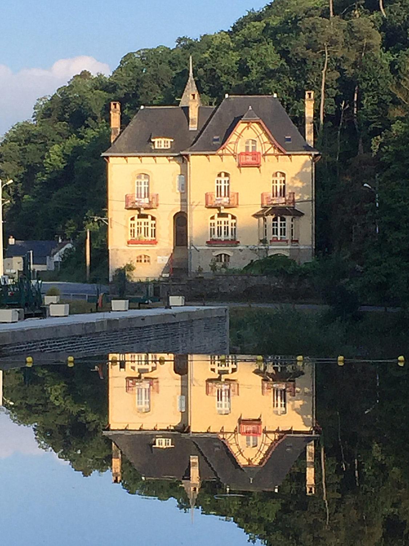 Villa Tranquillité, Canal de Nantes à Brest
