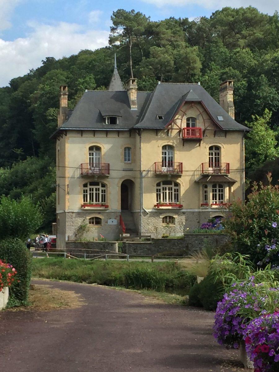 Villa Tranquillité, façade