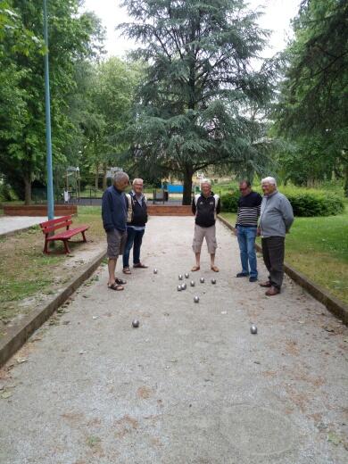 Les provençaux en Bretagne: la pétanque