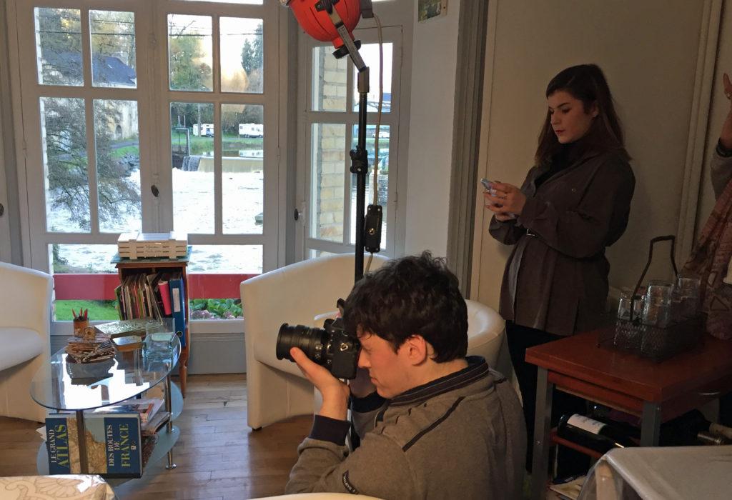 Shooting de mannequin, Villa Tranquillité
