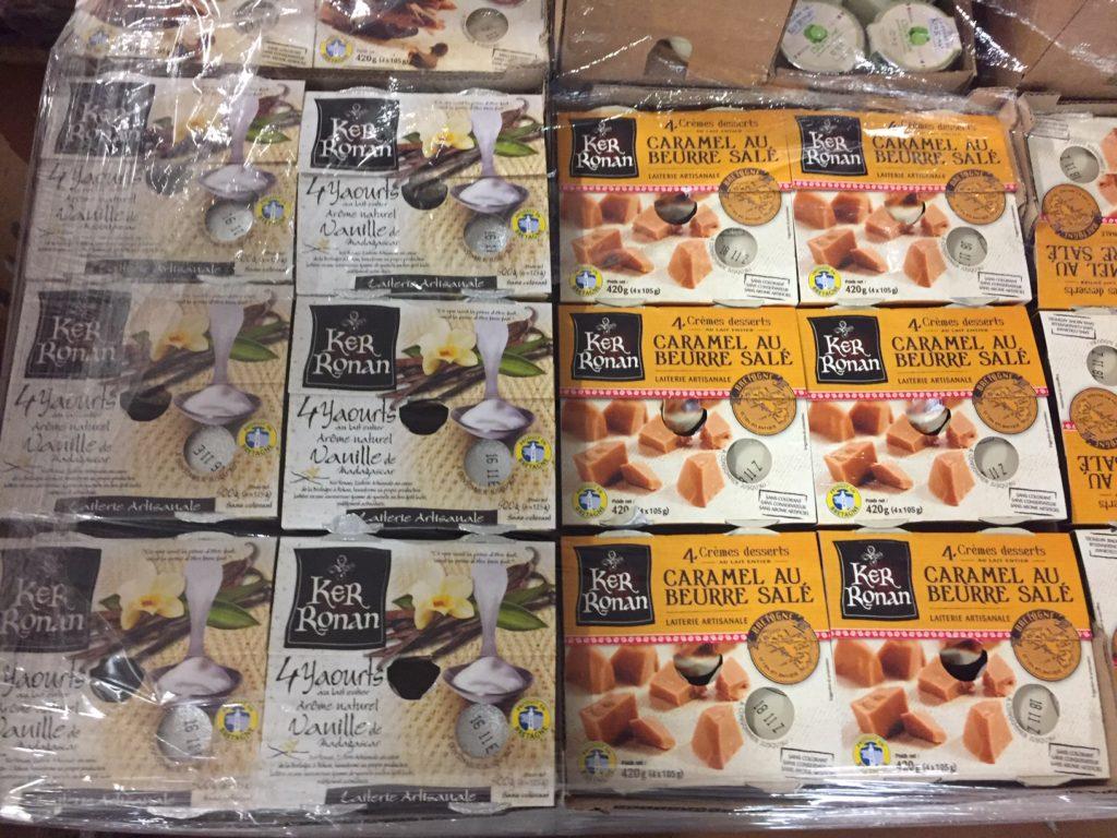 Ker-Ronan-crèmes et yaourts