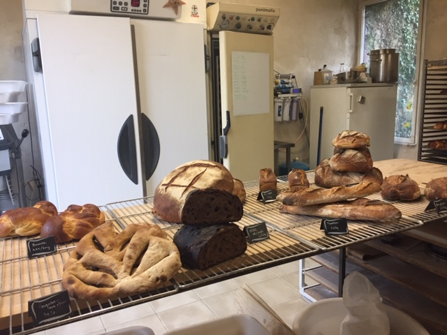 Quel plaisir d'aller à la Ferme de la Roche Bleue à Moréac! Jullian plante ses créréales, produit sa farine et nous fait ce bon pain que vous trouverez au petit-déjeuner de la Villa Tranquilité