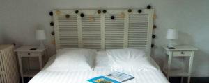 Chambre La Roche Brune, vue sur l'écluse, 3 épis