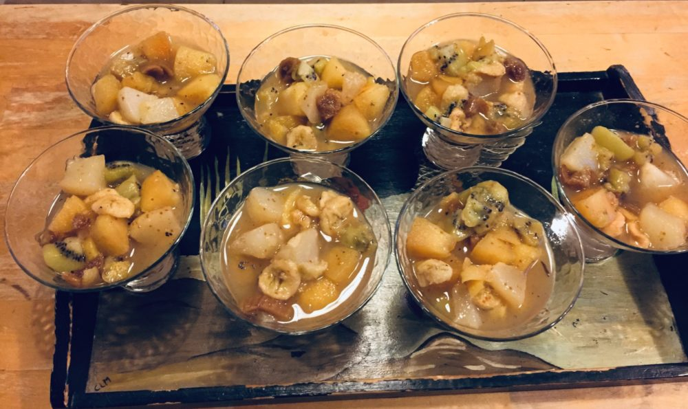 Compotée de fruits aux épices