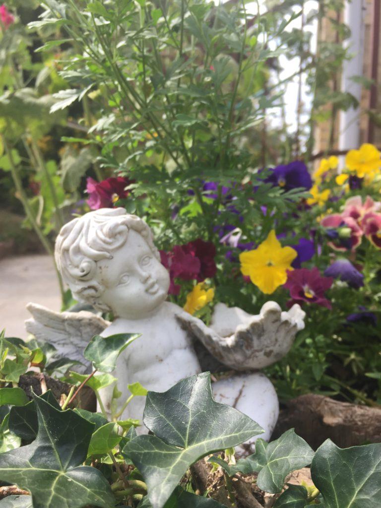 Villa Tranquillité, déco jardin