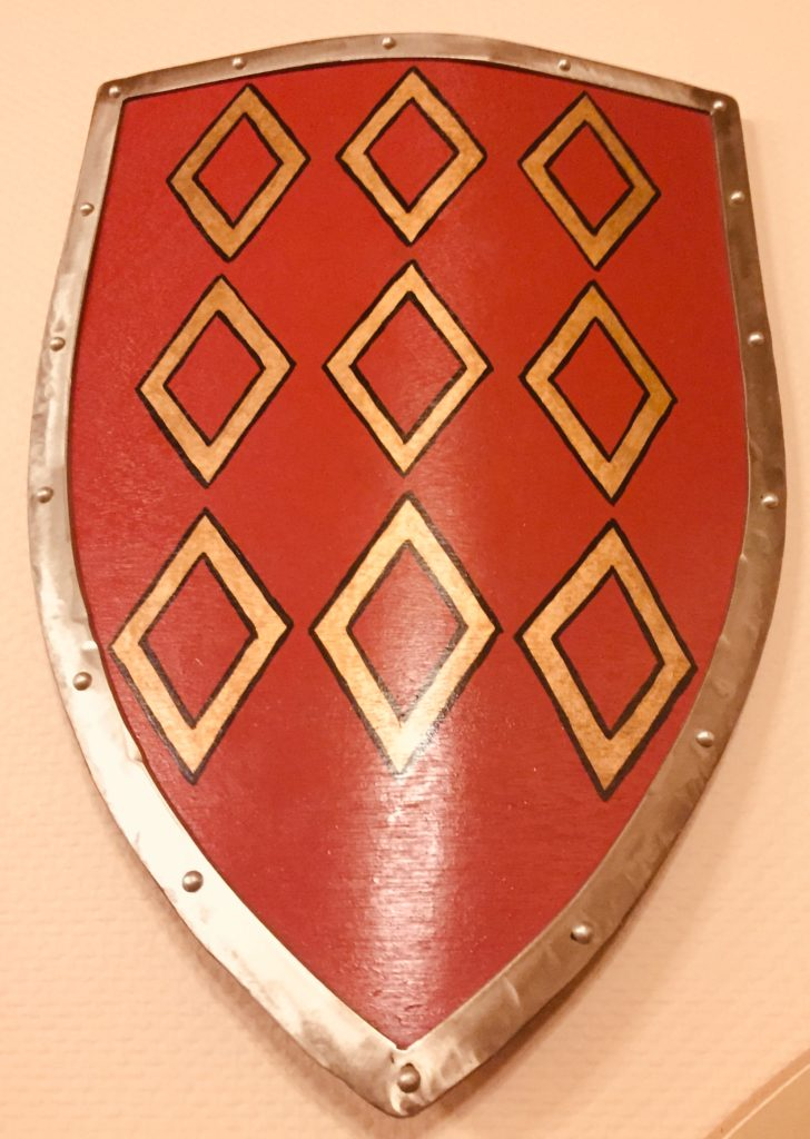 Blason de la commune de Rohan