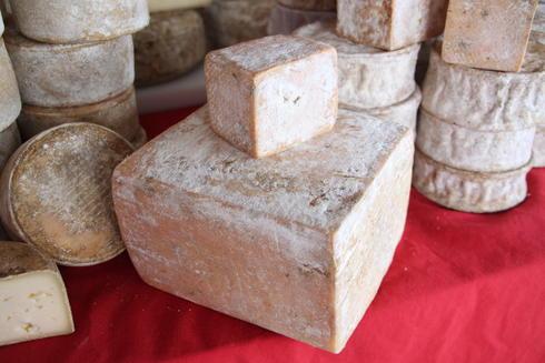 A la La Ferme du Lintan, il y a de bons fromages. Ici, le Ty Pavez. Que vous trouverez à la table d'hôte de la Villa tranquillité