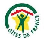 Logo des Gîtes de France. Labellisée 3 épis